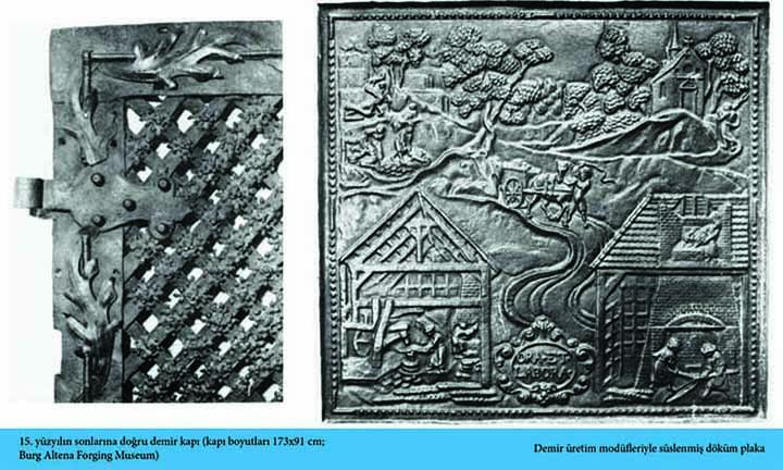 Steel and iron history - Burg Altena Forging Museum Iron Door